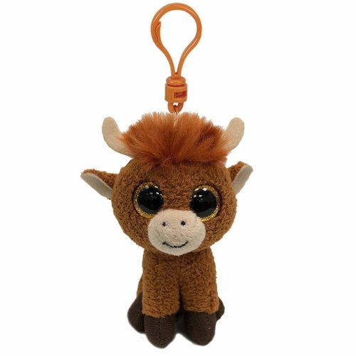388af9c3037 Ty Beanie Babies Boos 35214 Angus the Scottish Highland Cow Boo Key Clip on  OnBuy