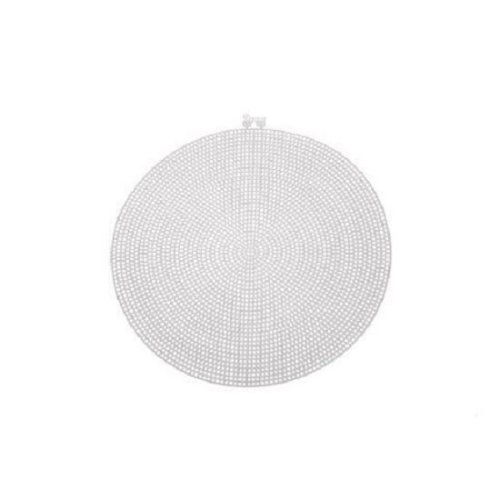 Darice Large Plastic Canvas Circle - 9.5in (24.1cm)