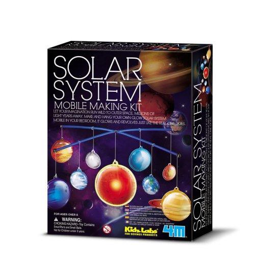 4M Kidz Labs Solar System Mobile Making Kit