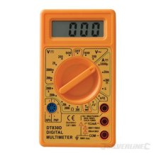 Silverline Ac & Dc Digital Multimeter