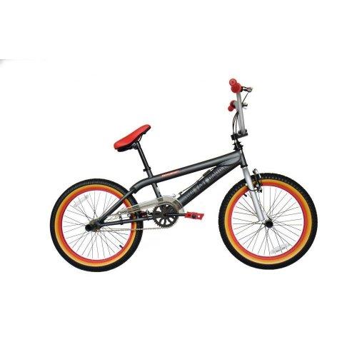 "2019 Rooster Big Daddy Kids 20"" Wheel Fat Tyre BMX Bike Gyro Stunt Pegs RS903"