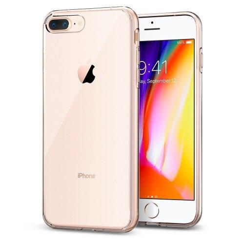 iPhone 8 Plus Case, Spigen Liquid Crystal Clear iPhone 7 Plus Cover