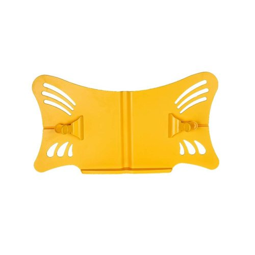 Creative Book Stand Reading Holders Bookends Book Racks, Bigger,Yellow