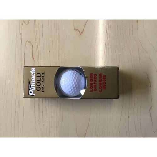 Pinnacle Gold Distance #2 (3 balls per pack) Golf Balls