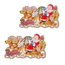Christmas Decoration Stickers Garden ornaments 6 pcs