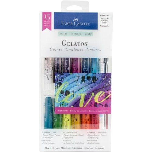 Faber-Castell FC770175 Gelatos Colors Kit - Iridescents