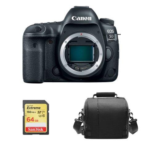 CANON EOS 5D IV Body + 64GB SD card + camera Bag