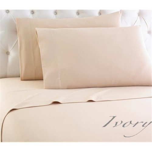 Shavel MFNSSTXIVY Micro Flannel Ivory Twin Sheet Set, Extra Large