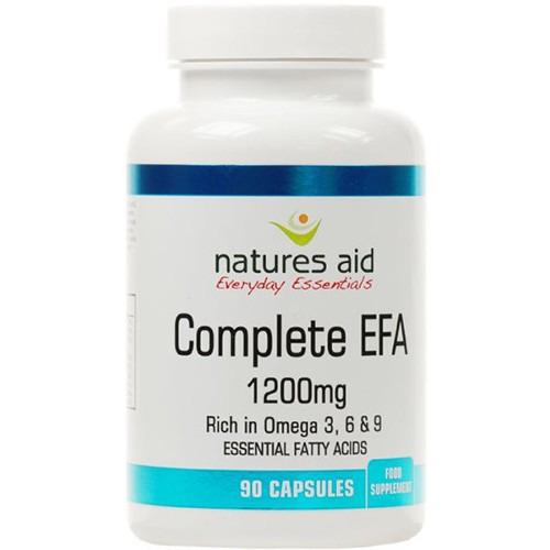 Natures Aid Complete Efa (essential Fatty Acids) Omega 3  6 + 9 90 Capsules