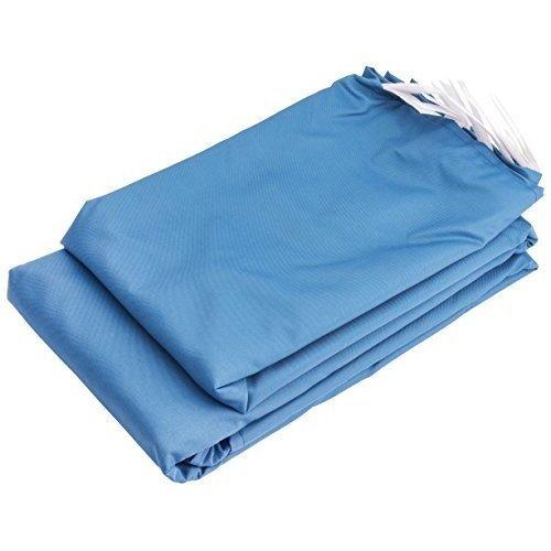 (2) Sides For Gazebo - x Draper 19m 2 Side Panels 3m Blue 02577 -  x draper gazebo 19m 2 side panels 3m blue 02577