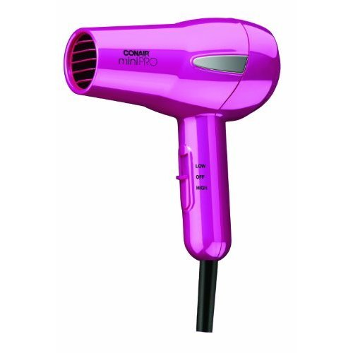 Conair MiniPRO Tourmaline Ceramic Styler / Hair Dryer; Pink