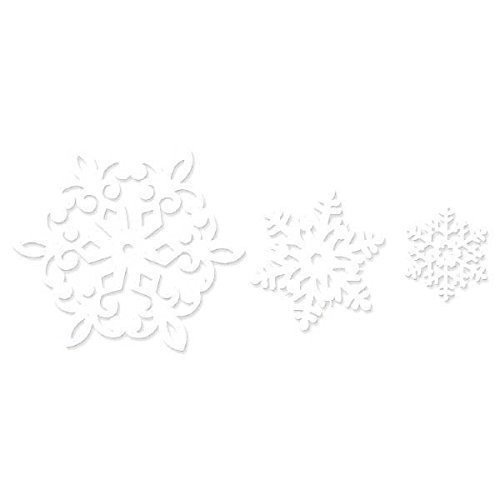 Christmas Glitter Cut-out Mega Value Pack 12.7cm, 19cm, 29.2cm
