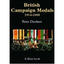 British Campaign Medals, 1914-2000 (shire Colour Album)