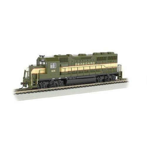 Bachmann Industries EMD GP40 DCC Equipped Locomotive Seaboard #626 HO Scale Train Car
