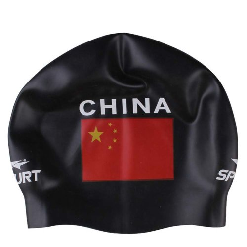 Cartoon Cap Silicone Kids Are Available Swimming Cap Wrinkle-free Printing