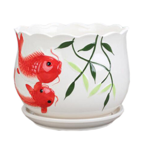 Home/Office Cute Chinese Small Vase Plant vase  Succulent Pots, No.7