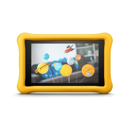 """Fire for Kids Kid-Proof Case for Fire 7 (7"""" Tablet, 7th Gen - 2017), Yellow"""