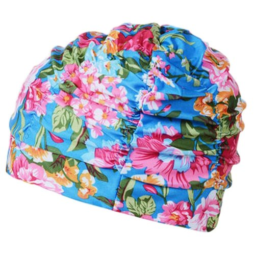Fashionable Women's Swim Cap Shower Cap, Style F
