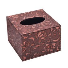 Practical Beautiful Leather Storage Tissue Boxes