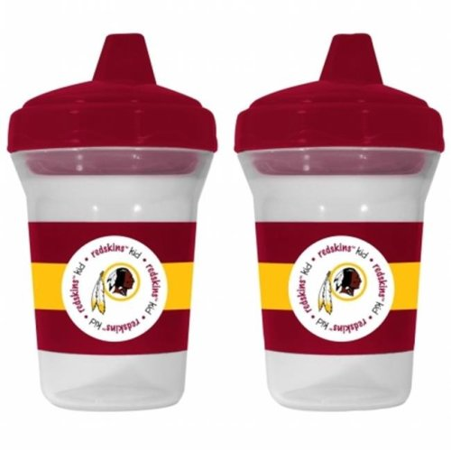 Baby Fanatic 143405 Washington Redskins Sippy Cups 2-pack