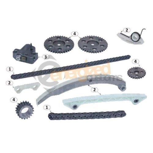 Ford Mondeo Mk3 1.8/2.0 Petrol 2005-2008 Timing Chain Kit