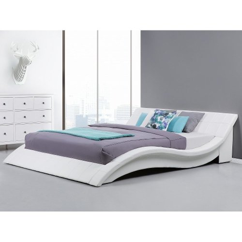 Leather Water Bed - Super King Size - Full Set - 6 ft /180 x 200 cm - VICHY