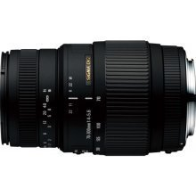Sigma 70-300mm F4-5.6 DG MACRO SLR Telephoto zoom lens Black