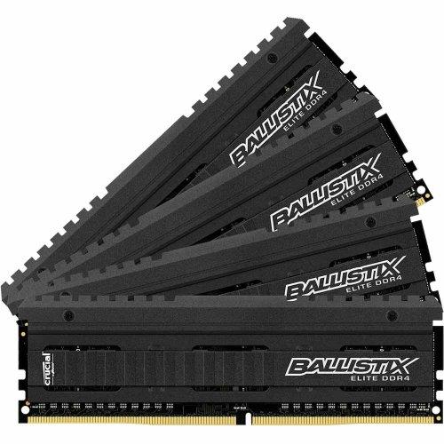 Crucial Balistix Elite 16Gb (4x4Gb) DDR4 3000MHz Memory Kit