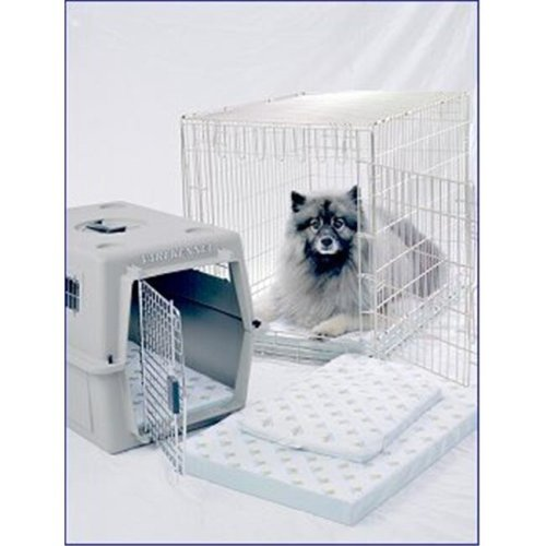 25.5 x 39.5 Inch Ultra-Dry Transport System-Crate Pad - Fits Most 42 Inch Wire Crates