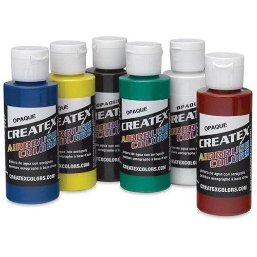 Alvin 5803-00 Createx Airbrush Opaque Set 2oz