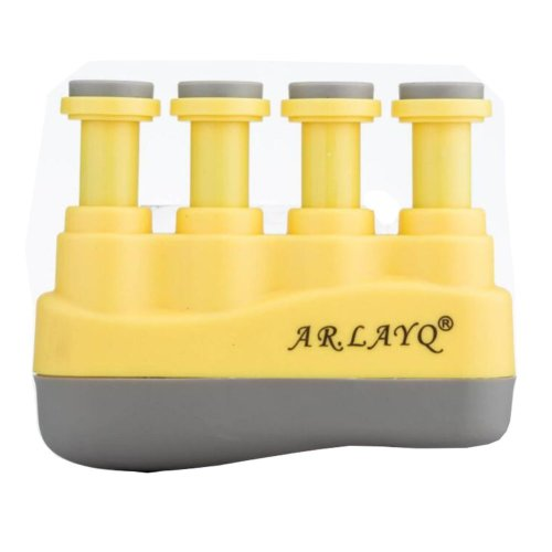 Strength Trainer Guitar Finger Strengtheners - Yellow