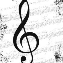 4 x Paper Napkins - I Love Music  - Ideal for Decoupage / Napkin Art