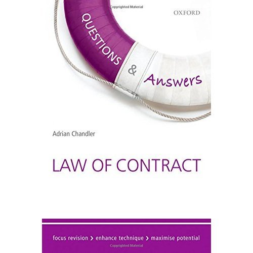Questions & Answers Law of Contract Law Revision and Study Guide 10/e (Law Questions & Answers)