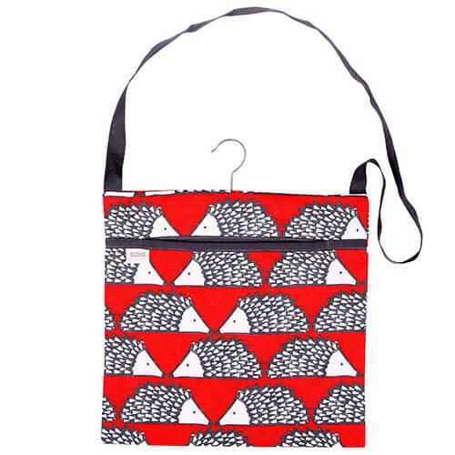 Scion Living Spike The Hedgehog Red Peg Bag 100% Cotton 30x30x2 cm