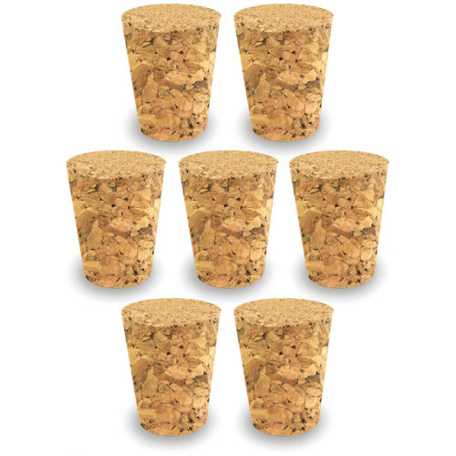 Cork Stoppers Value Pack-22mmx18mmx24mm 7/Pkg