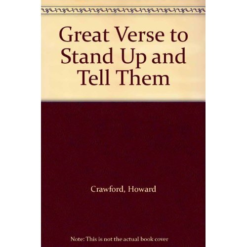 Great Verse to Stand Up and Tell Them