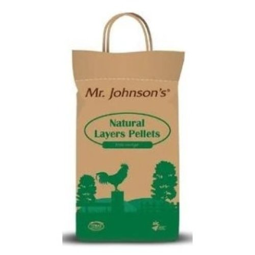 Mr Johnson's Natural Layer Pellets, 5kg