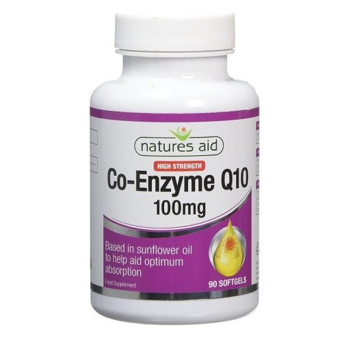 Natures Aid Co-Enzyme Q10 100mg 90 Softgels