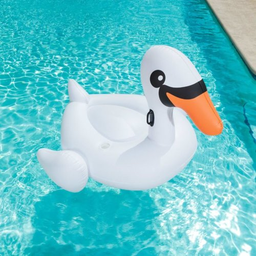Bestway Pool Ride-on Jumbo Swan Zaina White 41109