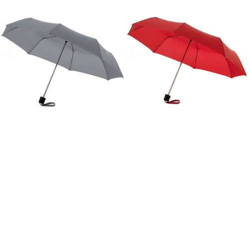 Bullet 21.5in Ida 3-Section Umbrella (Pack of 2)