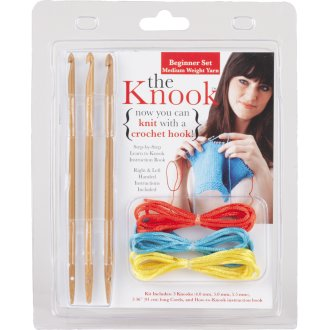 The Knook Beginner Set-Medium Weight Yarn
