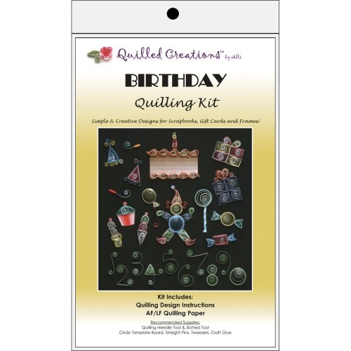 Quilled Creations Quilling Kit-Birthday