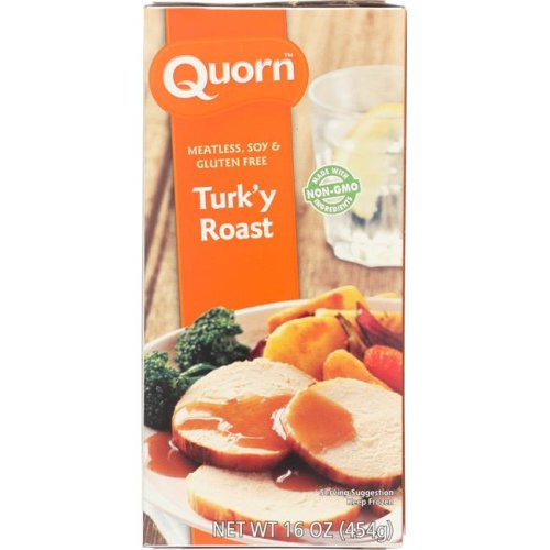 Quorn KHFM00765917 Meatless & Soy Free Turky Roast - 16 oz