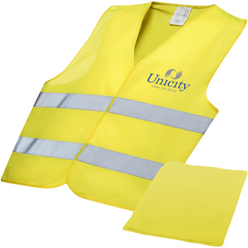 Bullet Childrens/Kids Professional Safety Vest In Pouch