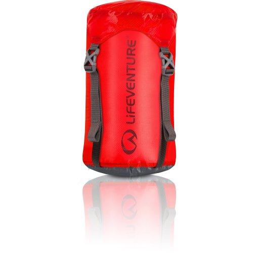Lifeventure Ultralight Compression Sack - 5 Litres Red