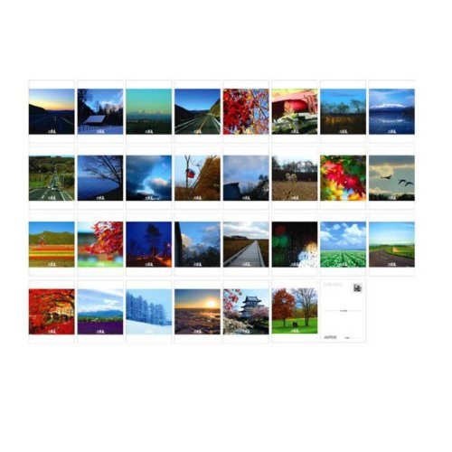 Postcard Hand Set Collection Set Painting Greeting Card  #5