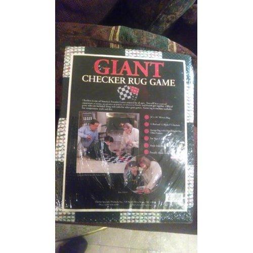 Giant Checker Rug Game