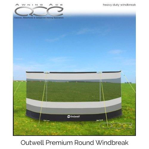 Outwell Premium Curved Windscreen Windbreaker