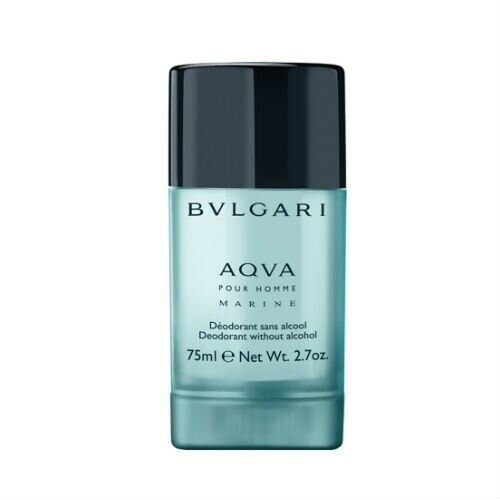 Bvlgari  Aqva Pour Homme Marine Deodorant Stick  75 g without Alcohol