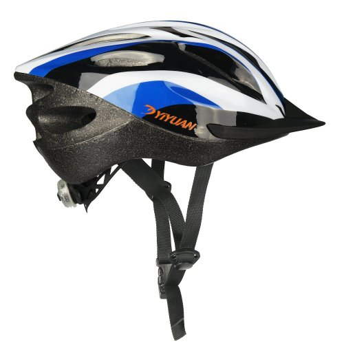 Yiyuan Adult bicycle helmet Cycle helmet with safety light with Visor